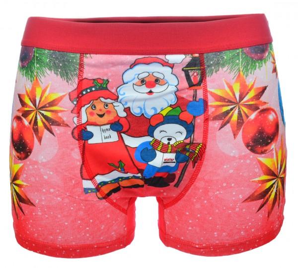 Herren Boxershorts Shorts Unterhose Slip Unterwäsche Weihnachten M-XXL