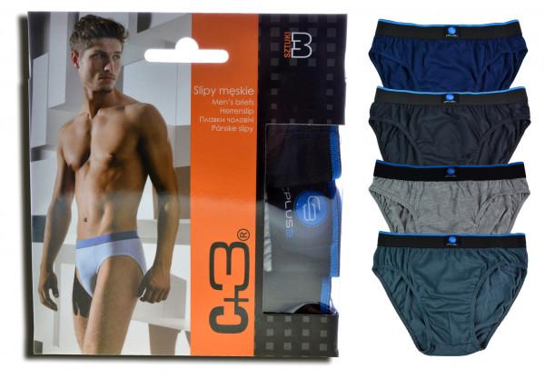 3er Pack Herren Slip mit Box Unterhose Slips Unterwäsche M-3XL
