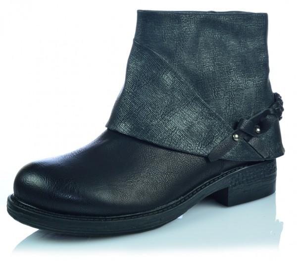 Damen Schlupfschuhe Boots Stiefel Stiefeletten Gr. 36-41
