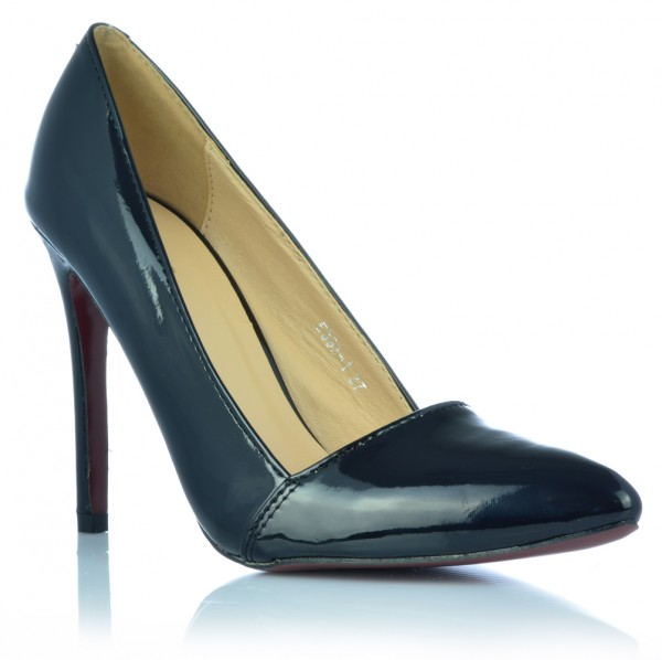 Elegante Damenschuhe High Heels Stiletto Pumps Abendschuhe Lack-Optik Gr. 36- 40