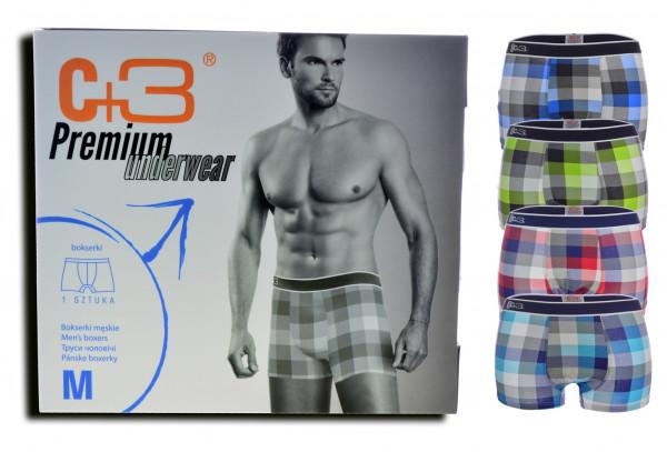 4er Pack Herren Boxershorts mit Box Shorts Unterhose Unterwäsche M-2XL